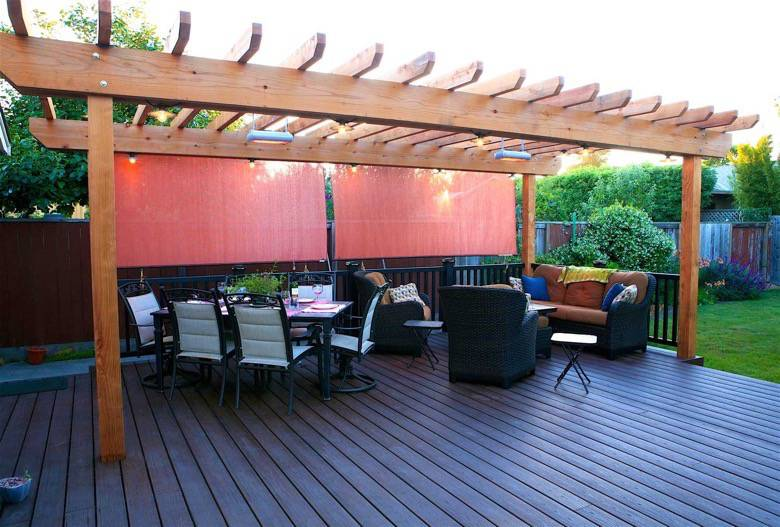 Santa Cruz Design + Build: deck trellis addition