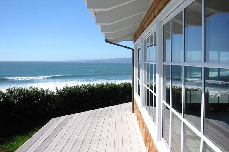 Santa Cruz Design + Build: ocean view deck