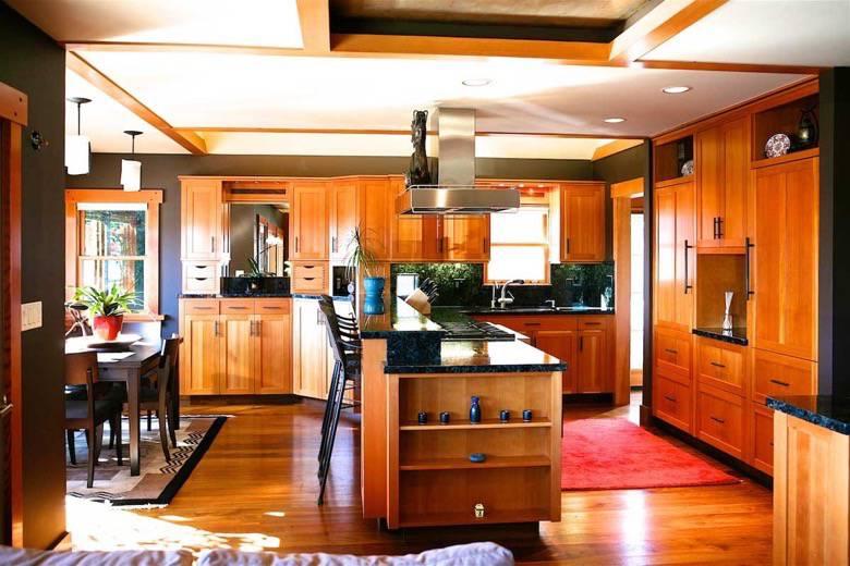 Santa Cruz Design + Build: open kitchen