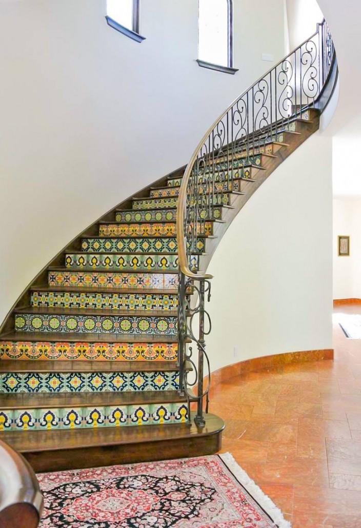 Golden Visions Design: Saratoga Mediterranean Home