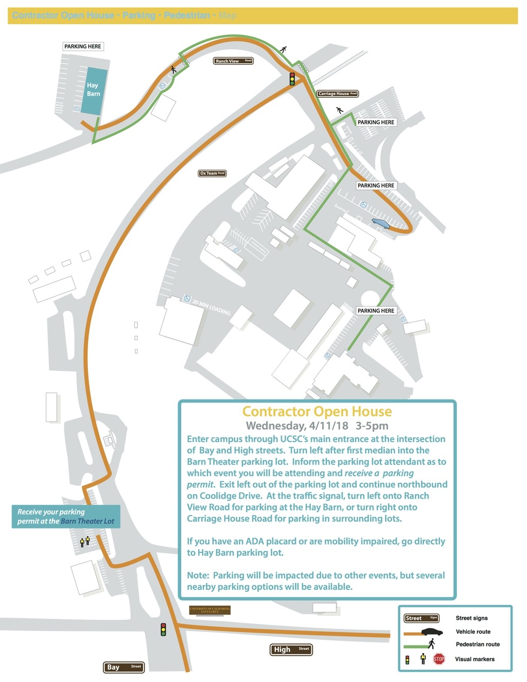 UCSC Open House Map