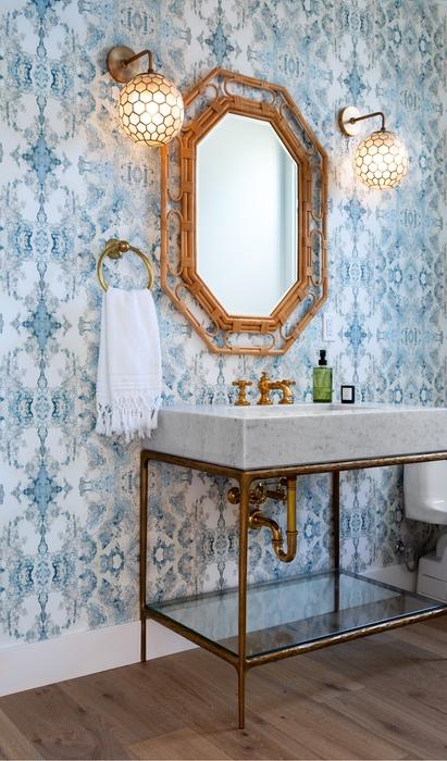 Urbana Design Studio - Powder Mirror Vanity