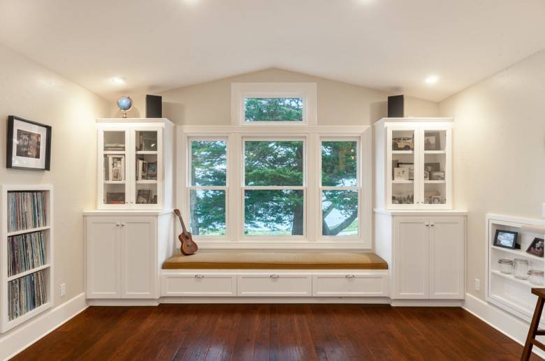 Golden Visions Design: West Cliff Santa Cruz Addition Nook