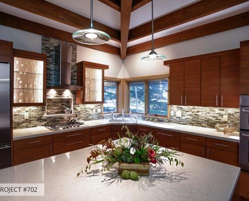 Talmadge Construction: bamboo kitchen