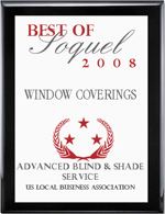 Advanced Blind & Shade Award