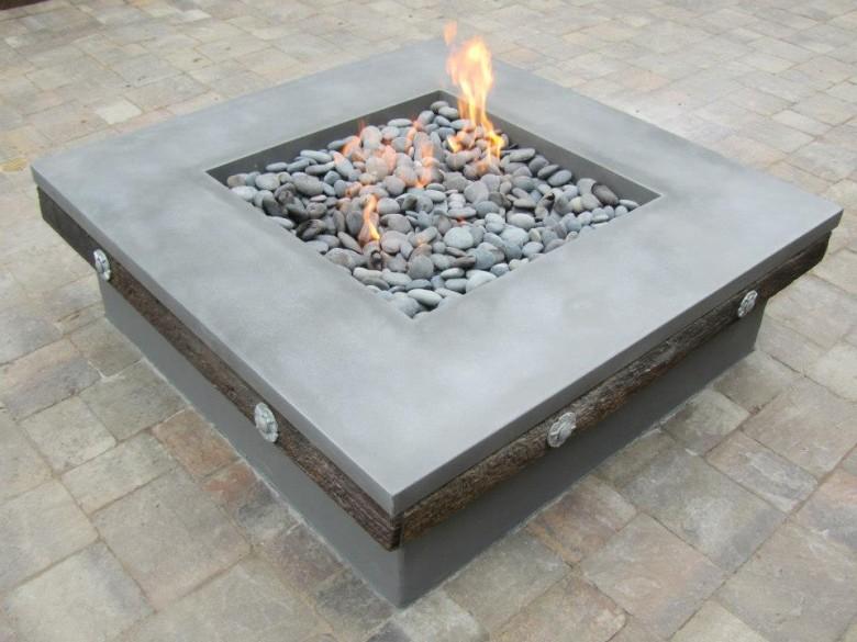 Concrete Craftsman: Concrete Firepit