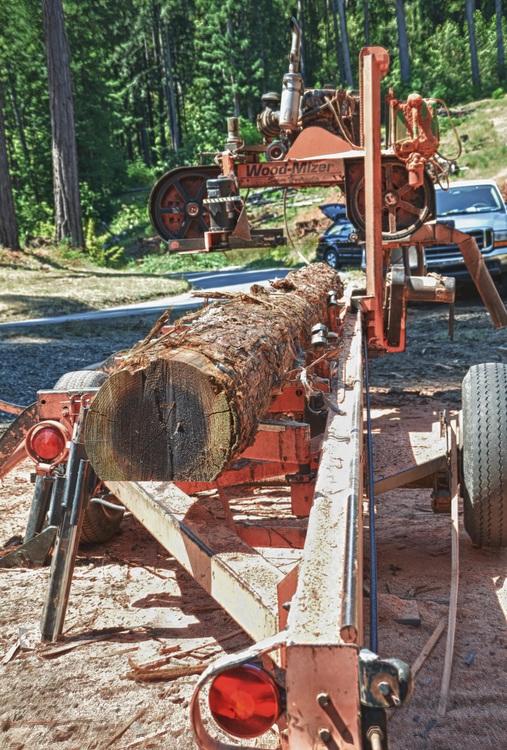 David Smith Portable Sawmill