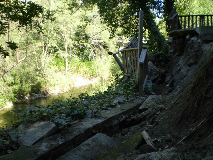 Avalon Structural: hillside fail