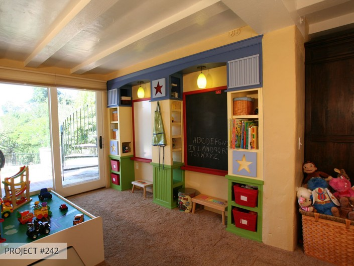 Talmadge Construction: kids room home remodel