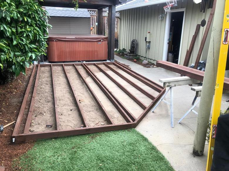 Mazzei Construction Deck Shape