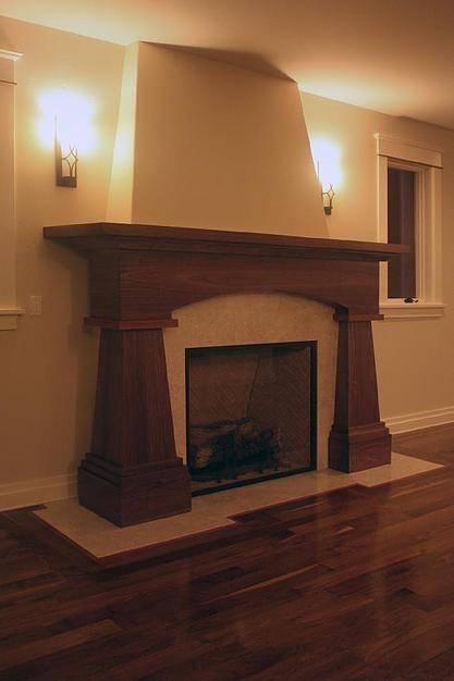 Meschi Construction Inc.: fireplace