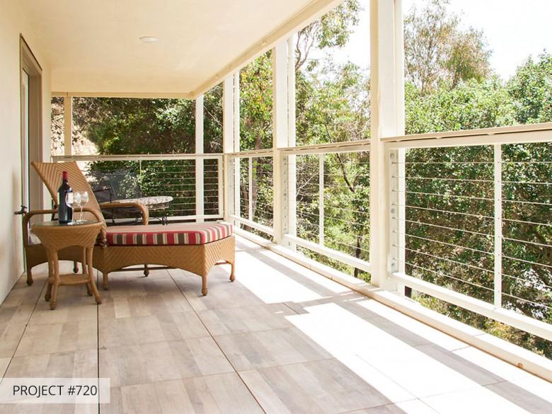 Talmadge Construction: pedestal deck system