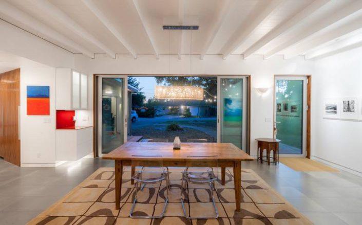 Golden Visions Design: Santa Cruz Mid-Century Dining Room