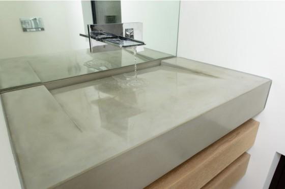 Concrete Craftsman Bathroom Sink