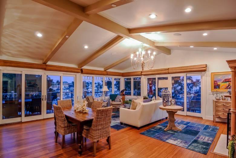 Golden Visions Design: Santa Cruz Yacht Harbor Renovation: Living Room